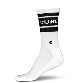 Cube After Race High Cut Socks white'n'black